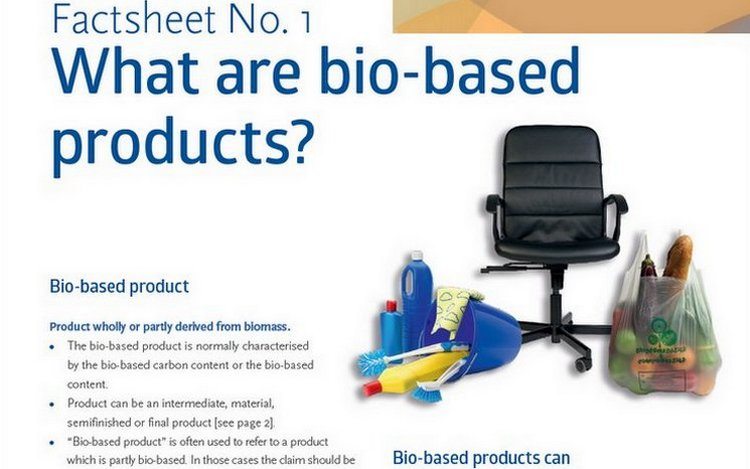 What are bio-based products? A Factsheet Aims to Provide Clarity